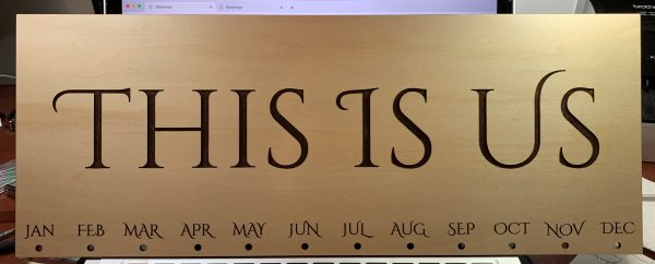 calendar - This is Us